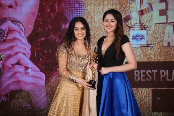 Actress Sayyeshaa, Aishwarya Rajesh At 12th Edison Awards 2019