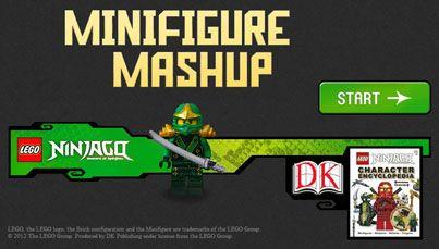 LEGO® Ninjago Minifigure Mashup - free game! | My Style ...