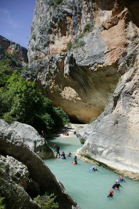 Cañón del Río Vero. Alquézar (Huesca, Aragón) Spain