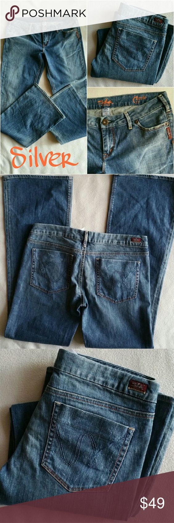 SILVER Jeans AMIE Blue Jeans size 31/34