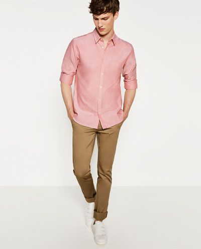 CAMISA OXFORD SLIM FIT - Disponible en más colores