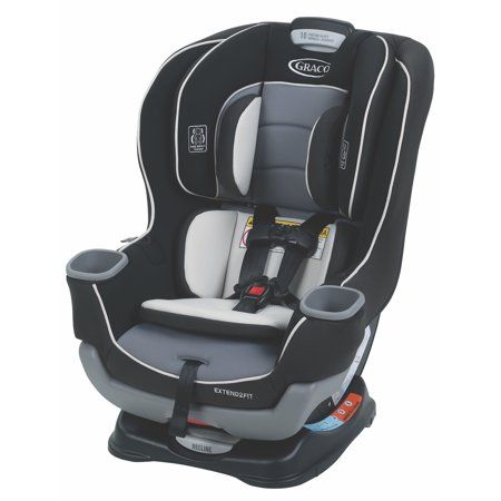 Graco Extend2fit Convertible Car Seat Ride Rear Facing Longer Gotham Walmart Com Car Seats Best Convertible Car Seat Best Car Seats