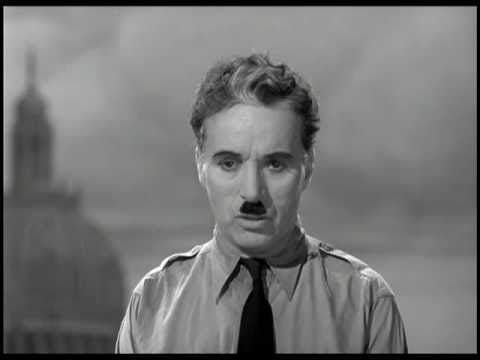 essay on the great dictator speech This is a reaction paper about the great dictator movie of charlie chaplin which also includes my reflection on the notable speech in the movie by ivan_bendiola in.