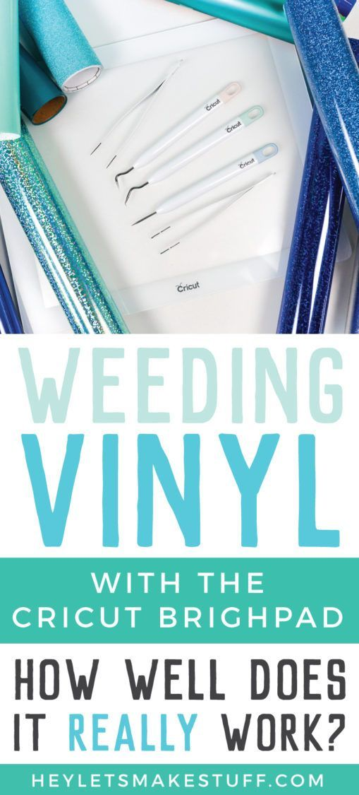 The Cricut Brightpad Is Designed To Help Make Weeding Vinyl Easier We Put It To The Test Here S How It Fared On More Than A Dozen Different Adhesive And Iron O Iron