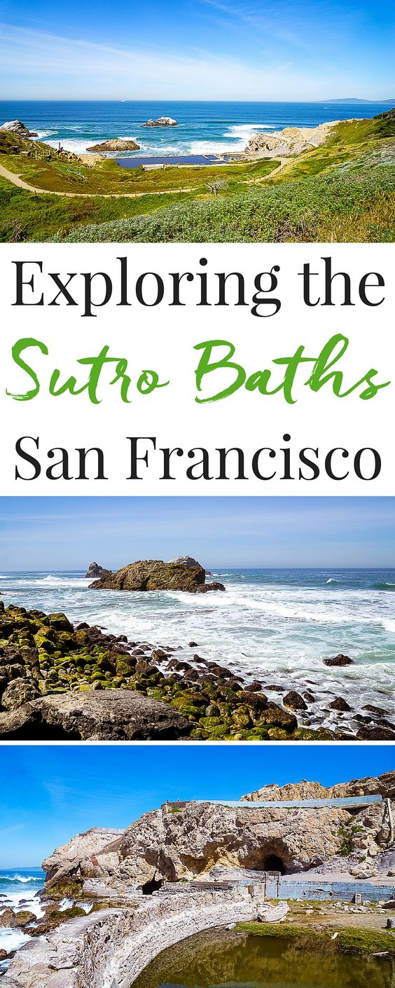 The Sutro Baths Ruins might just be the best-kept secret in San Francisco! If you're planning a trip, make sure it's on your itinerary!