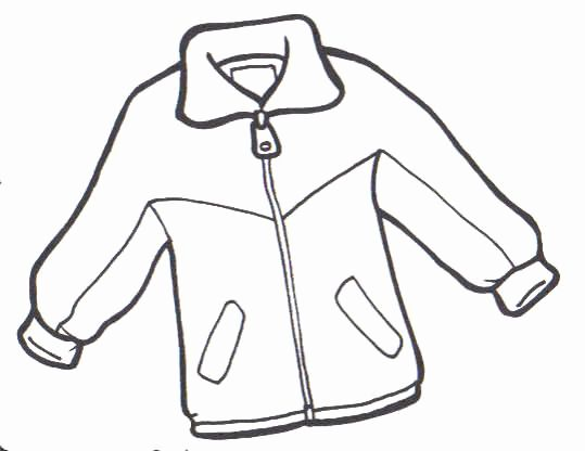 Winter Coat Coloring Page Unique Coat Coloring And Painting