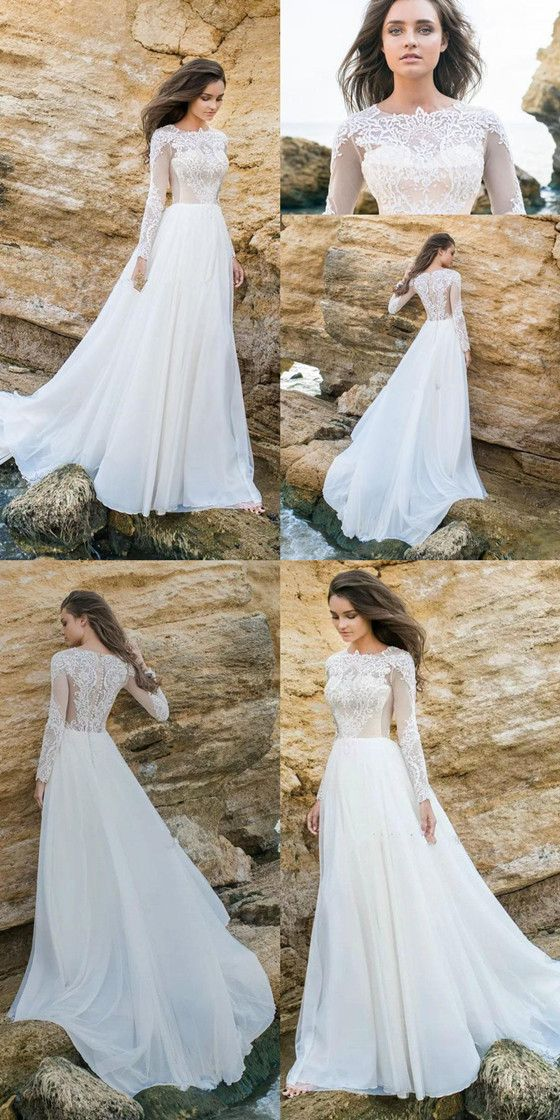 Plain Lace Cap Sleeves V Neck Cheap Wedding Dresses Online Cheap