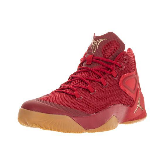 50a8072d2455f7 Nike Jordan Men s Jordan Melo Gym Red Mtlc Gld Str Chllng Rd Basketball Shoe