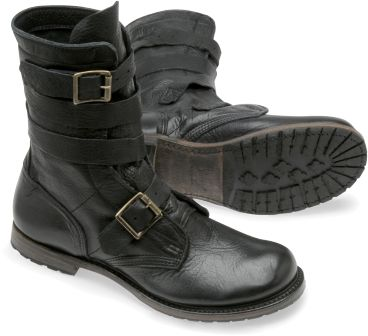 Tanker boots in Black: