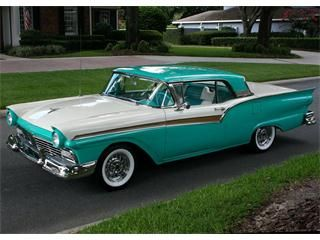 1957 Ford Fairlane Skyliner Retractable Convertible