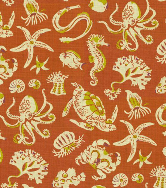 Home Decor Print Fabric Tommy Bahama Sea Sparkle Henna