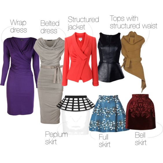 Outfits ideas for ladies with rectangle body shape: