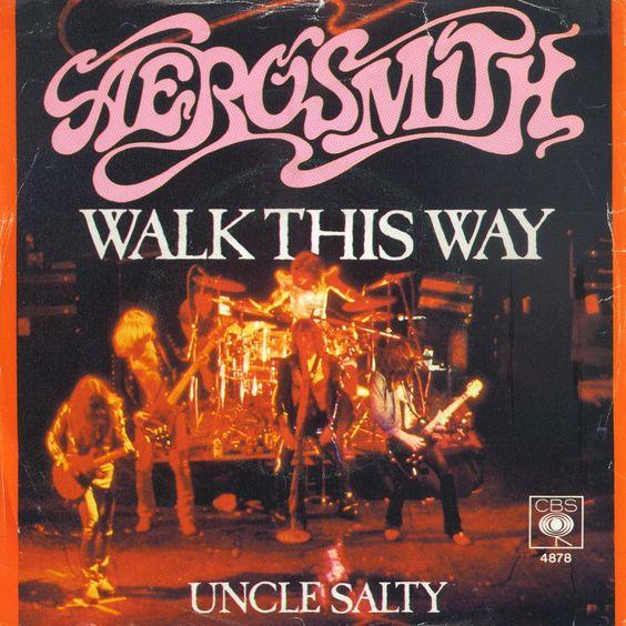 Aerosmith – Walk This Way (single cover art)