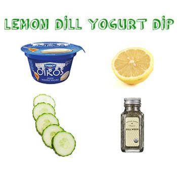 cheap easy vegetarian: lemon dill yogurt dip | Eat | Pinterest ...