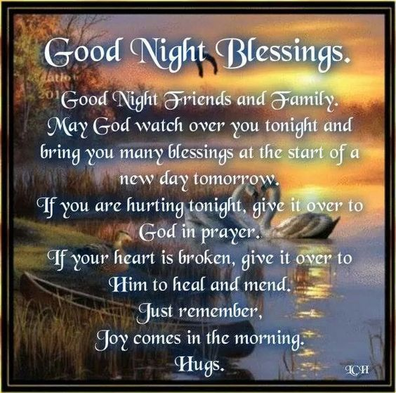 Night Time Prayer Quotes