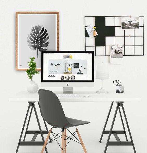 Draht, Memoboard, Raster Moodboard, Schwarzes Brett, nordisches Design, skandinavische Moderne, Magnet Display, Schweizer Kreuz Wanddekor