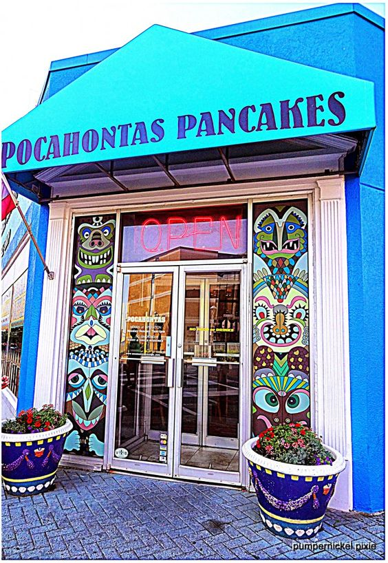 diner, breakfast, virginia beach, pocahontas pancakes, pocahontas waffle, waffles, pancakes, restaurant, breakfast restaurant, breakfast diner, vacation, holiday, travel, american breakfast, beach restaurant, getaway, weekend, food, american indian, pumpernickel pixie