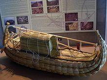 Thor Heyerdahl, Papyrusboot Ra ( nach ägyptischem Vorbild )