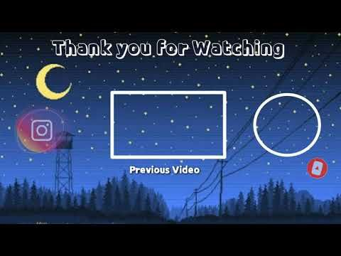Free Outro Midnight Sky Template No Text No Copyright Youtube In 2020 Midnight Sky Sky Intro