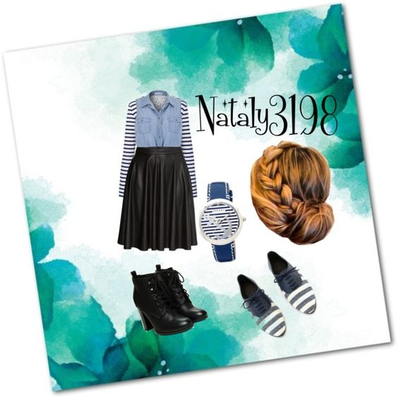 blueberry (love it) by nataly3198 on Polyvore featuring polyvore fashion style maurices T By Alexander Wang H&M Sperry Top-Sider