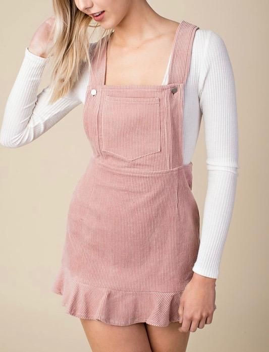 23++ Pink overall dress information