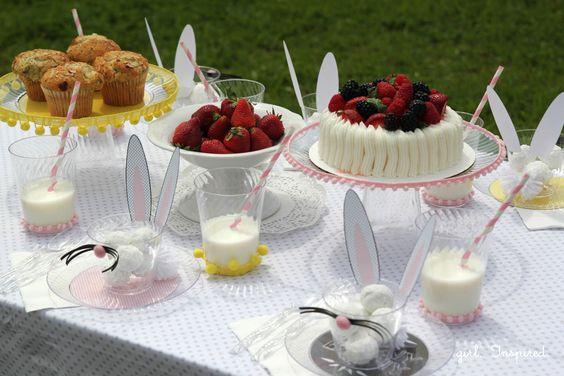 Bunny Breakfast – Children's Easter Party and Giveaway!  http://thegirlinspired.com/blog/