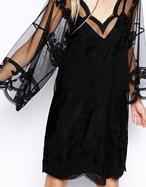 Image 3 ofASOS Gothic Kimono Dress