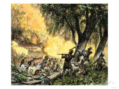 General Wayne's Victory at the Battle of Fallen Timbers, c.1794 Giclee Print at…