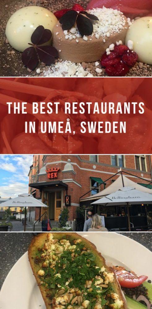 The Best Restaurants In Umea Sweden Umea Sweden Scandinavian Food