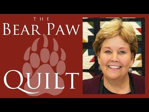 The Bear Paw Quilt: Easy Quilting Tutorial with Jenny Doan of Missouri Star Quilt Co - YouTube