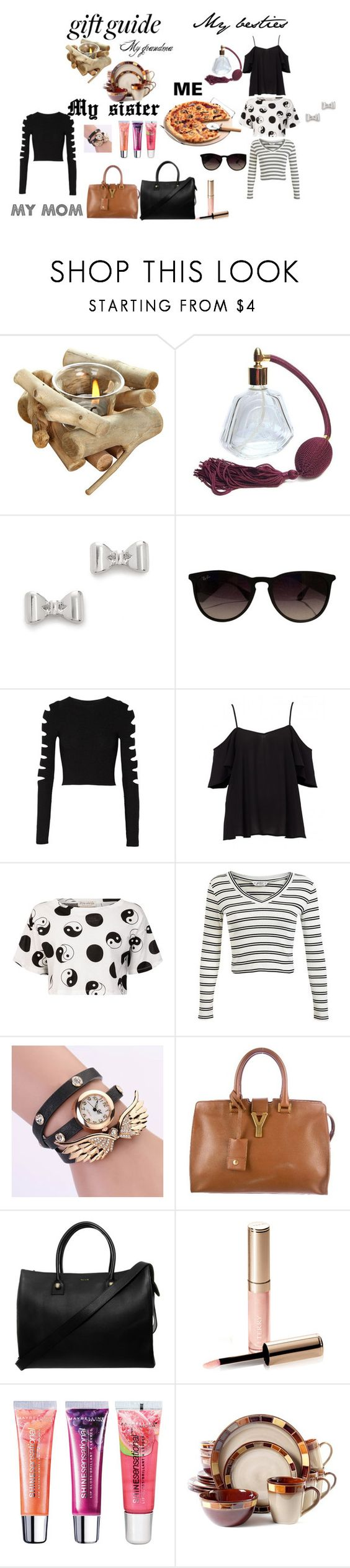 """And a Pizza please!"" by fabiagd ❤ liked on Polyvore featuring moda, Marc by Marc Jacobs, Ray-Ban, Cushnie Et Ochs, Être Cécile, Miss Selfridge, Yves Saint Laurent, Paul & Joe, By Terry e Maybelline"
