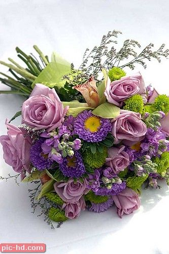 صور بوكيه ورد صور بوكيهات ورد جميلة اجمل صور بوكيه ورود Bridal Bouquet Purple Bridal Bouquet Purple Wedding Bouquets