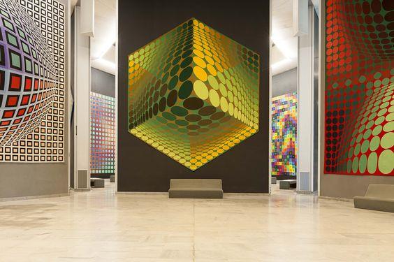 Fondation Vasarely à Aix en Provence