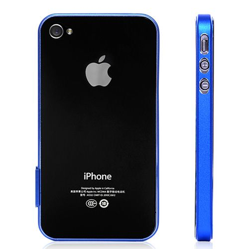 Ultra Slim Aluminium Bumper Hard Case For iPhone 4 &amp. 4S « Holiday Adds