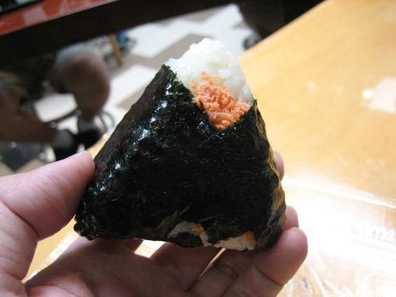 Rice Roll with Salmon!