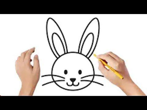 رسم ارنب بطريقة سهلة للمبتدئين رسم سهل تعليم الرسم للمبتدئين رسومات سهلة بالرصاص Youtube Bunny Drawing Easy Christmas Drawings Bunny Face