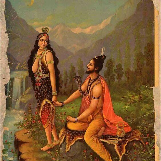Parvati - Shiva