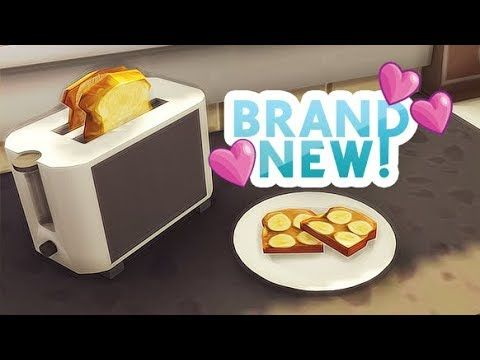 Toasters For The Sims 4 Are Here Youtube Sims 4 Kitchen Sims 4 Skills Sims Packs