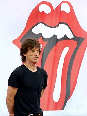 Mick Jagger - hard to believe he's been rocking for nearly 50 years.