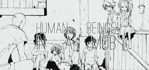 Human Beings In A Mob