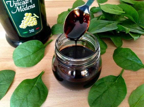 """Balsamic Reduction (aka making """"good"""" balsamic from the inexpensive stuff!)  by The Fountain Avenue Kitchen"""