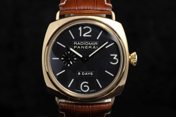Panerai PAM 197 Radiomir 8-days JLC Rose Gold 45mm