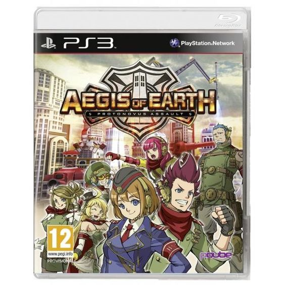 Aegis Of Earth Protonovus Assault PS3 Game | http://gamesactions.com shares #new #latest #videogames #games for #pc #psp #ps3 #wii #xbox #nintendo #3ds