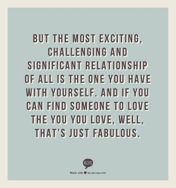 but the most exciting challenging relationship