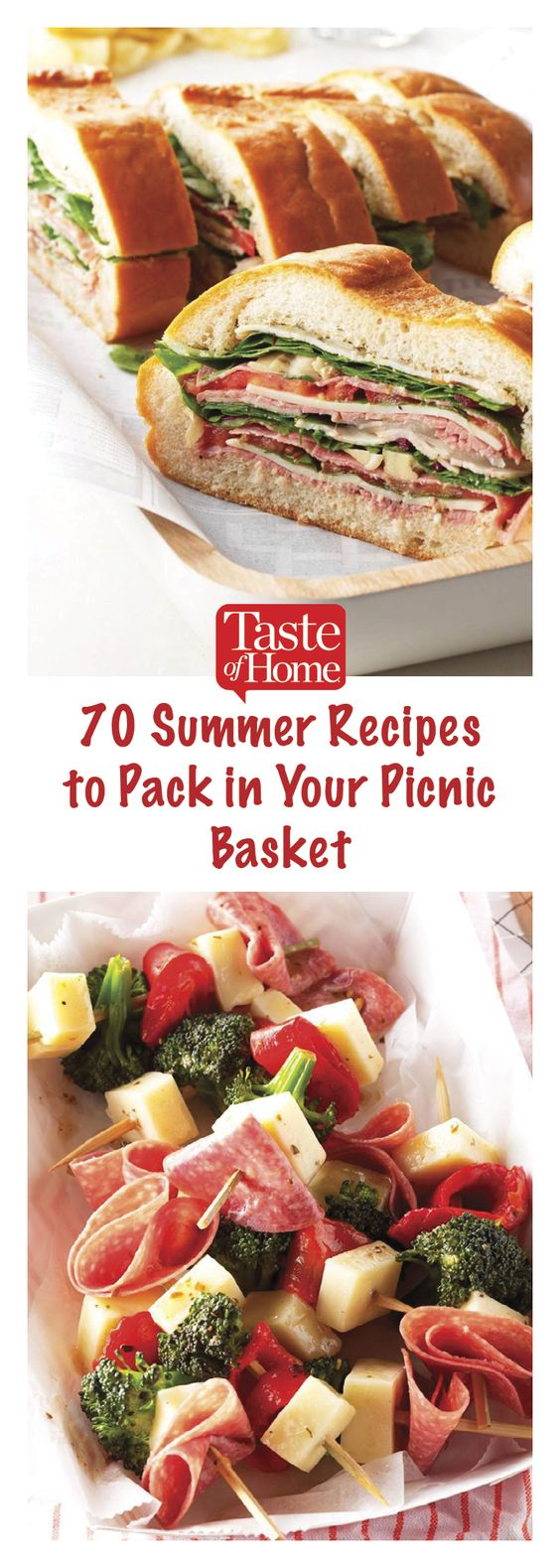 75 Summer Recipes to Pack in Your Picnic Basket