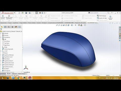 Modelado Avanzado De Superficies Solidworks Cswpa Superficies Youtube En 2020 Modelos Planos Tutoriales