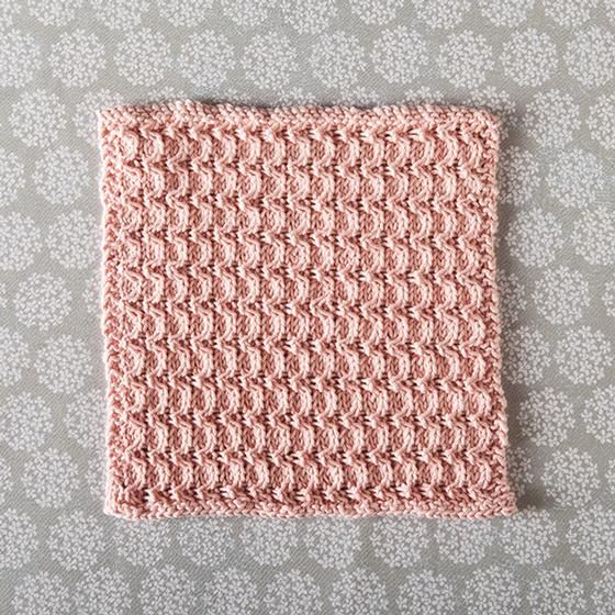 Zig Zag Dishcloth - Knitting Patterns and Crochet Patterns from ...