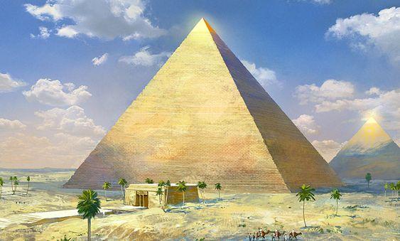 pyramids great ancient aliens enoch