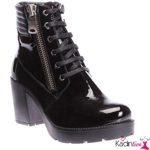 Yeni Sezon Inci Vegan Rugan Bayan Bot Modelleri Kadinlive Com Trending Shoes Boots Combat Boots
