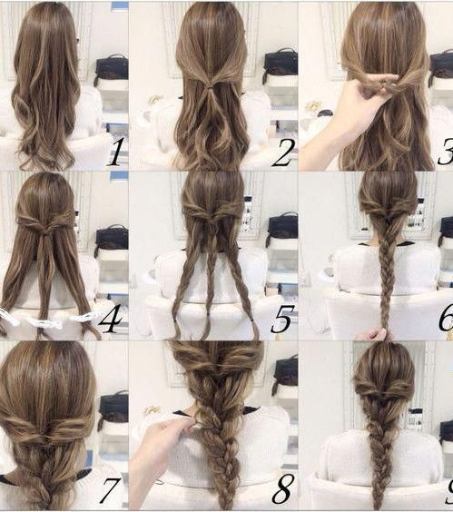 Hairstyle Favorite French Trends Spotted On Pinterest Easyhairstyles In 2020 Hair Styles Easy Updo Hairstyles Easy Hairstyles